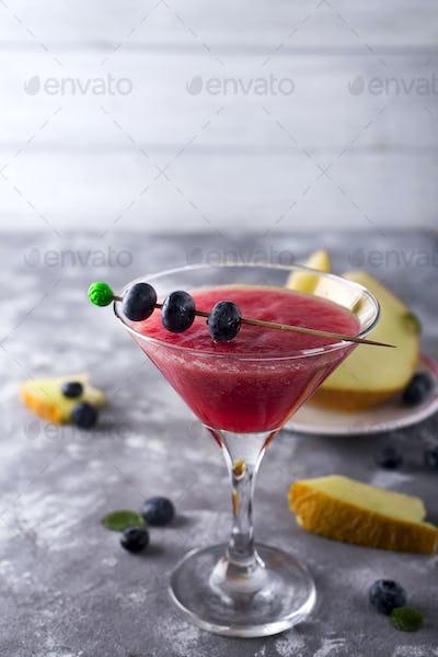 mellon ball cocktail