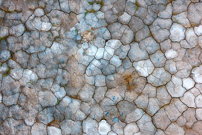 Cracked icelandic land texture