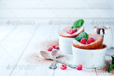 Homemade delicious souffle