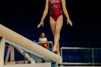 balance beam performance
