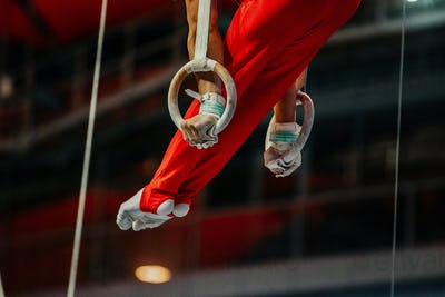 feet athlete gymnast
