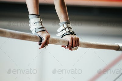 hands grips athletes female gymnast