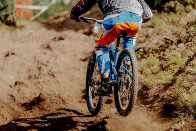 downhill xtreme rider man