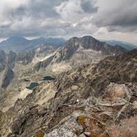 Photo of beautiful lakes in High Tatra Mountains, Slovakia, Europe