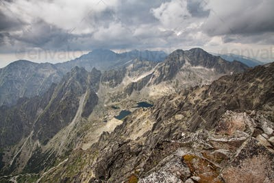 Photo of beautiful lakes in High Tatra Mountains, Slovakia, Europe