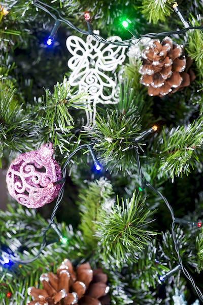 Closeup of Christmas-tree