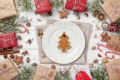 Christmas decoration card