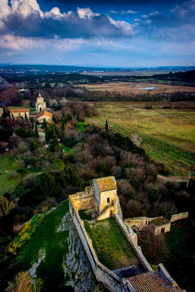A medieval monastery in Provence.
