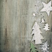 Christmas theme background in vintage style