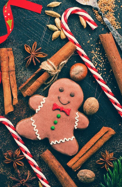 gingerbread with aroma spice
