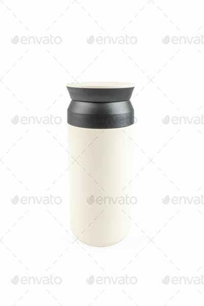 vacuum coffee cup isolated