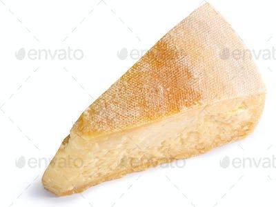 Parmesan cheese segment slice, paths, top
