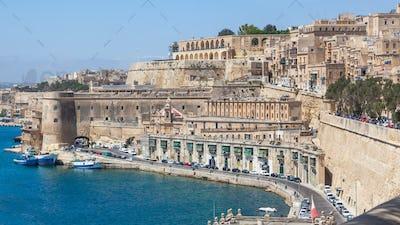 Old Buildings in Valletta