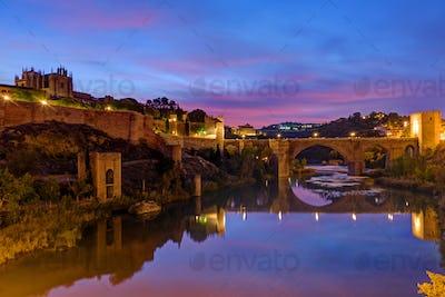 The Puente de San Martin in Toledo