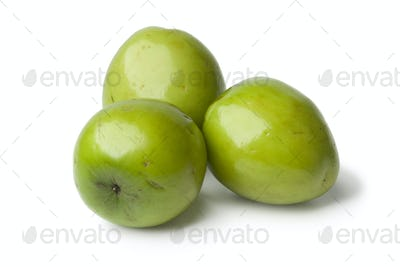 Fresh green whole Ambarella fruit