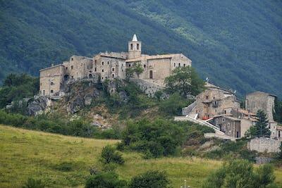 Mountain landscape of Maiella (Abruzzi)