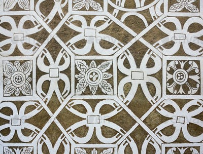 Sgraffito - Renaissance decoration of plaster