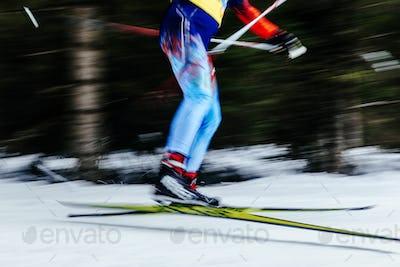 blur legs men skier