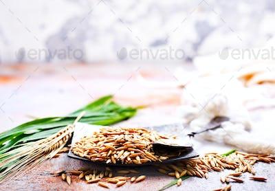 raw oat