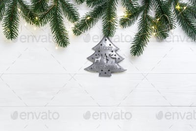 Christmas composition.
