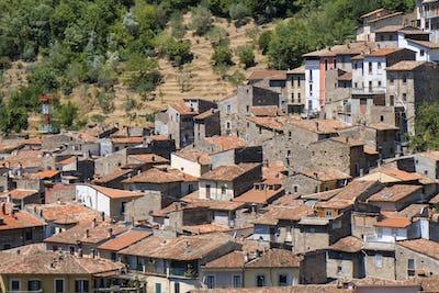 Antrodoco (Rieti, Lazio, Italy), panoramic view
