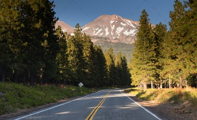 Mount Shasta Shastina Cascade Range California Nationa Forest