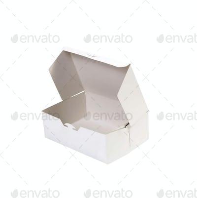 donut box isolated