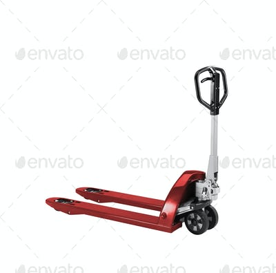 manual loader isolated on white
