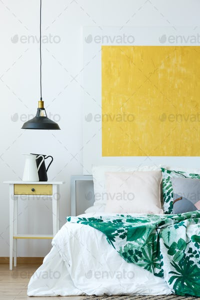 Pendant lamp and wall decor