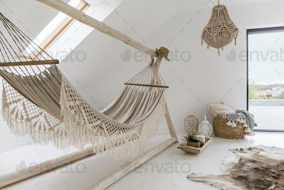 Cozy looking hammock