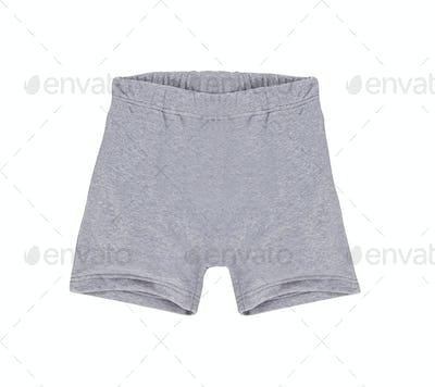 white shorts isolated