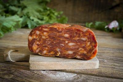 Calabrian salami