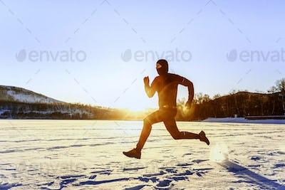 morning winter running