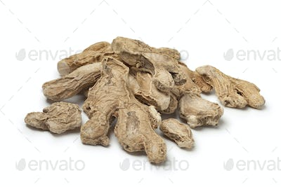 Dried ginger roots