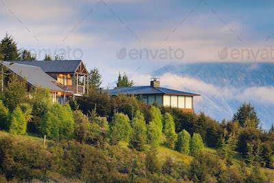 Chalet mountain houses