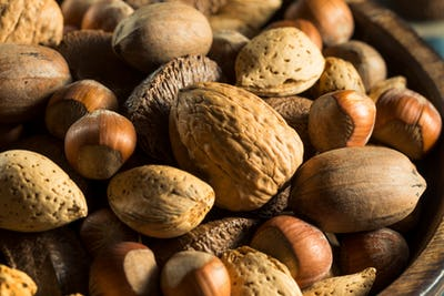 Whole Shelled Organic Mixed Nuts