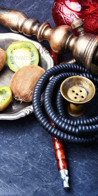 hookah shisha with kiwi