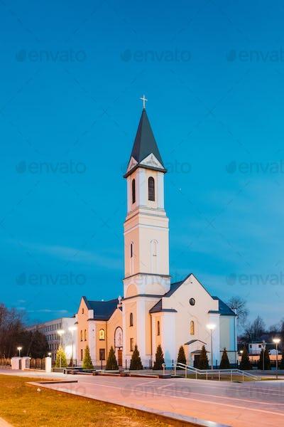 Gomel, Belarus. Church Of The Nativity Of The Virgin Mary On Sov