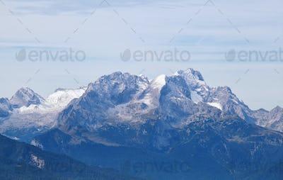 Karwendel mountain ridge