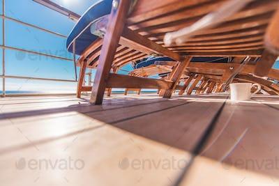 Cruise Ship Deckchairs