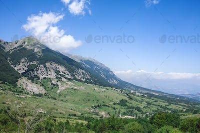 Mountain Peak Majella Abruzzo Italy