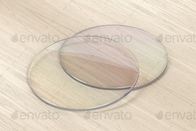 Pair of eyeglasses lens