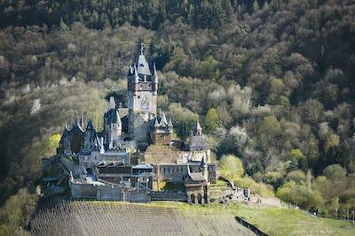 Reichsburg Cochem In The Eifel, Germany