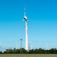 Wind power plants in Germany