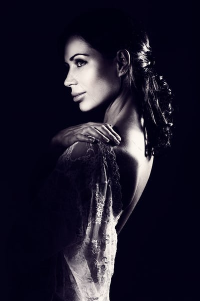 Beautiful sensual woman