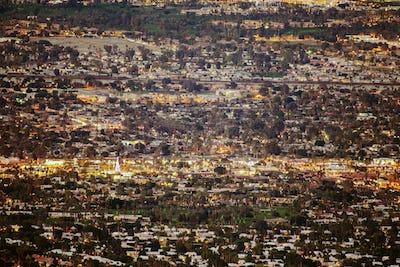 Panorama of the Palm Desert