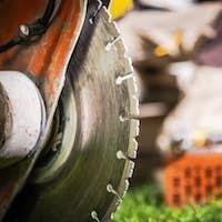 Concrete Cutter Closeup