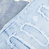 Jean background. Denim blue jean texture. Concept for fashion.
