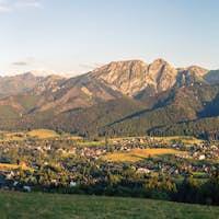 Inspiring Mountains Landscape Panorama, beautiful summer in Tatr