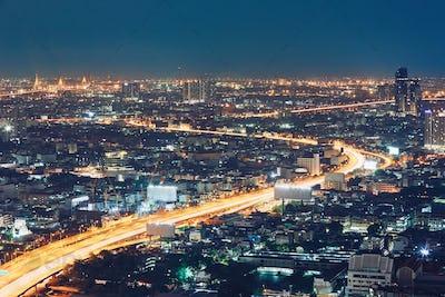 Bangkok at the night